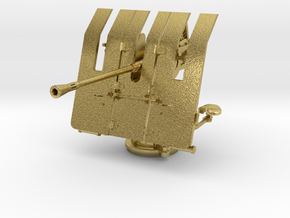 1/48 DKM 3.7cm Flak M42 Single Mount (Brass) in Natural Brass