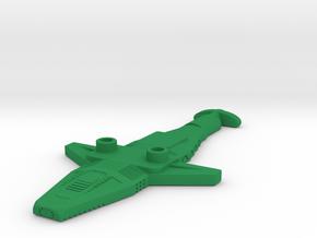 Stand Sharkos in Green Processed Versatile Plastic