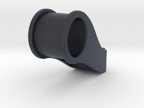 Fork mount for handle bar lights ~ 28mm steer tube in Black PA12