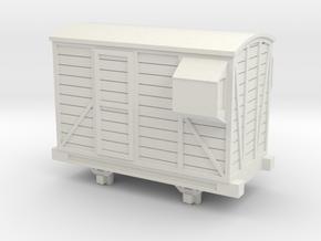 Bandai OO9 Scale Brake Van in White Natural Versatile Plastic