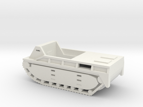 1/87 Scale LVT-1 Alligator in White Natural Versatile Plastic