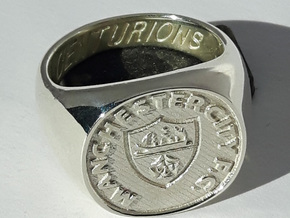 Centurions Size S. 19.15mm. Silver. in Polished Silver