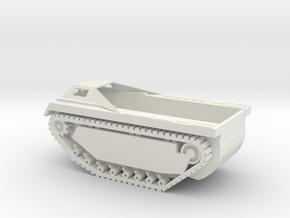 1/87 Scale LVT(3) in White Natural Versatile Plastic