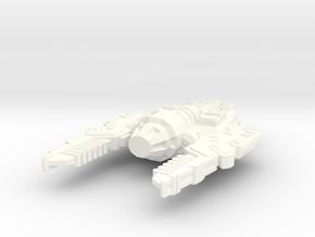 Pallarex Type 2 Starship in White Processed Versatile Plastic