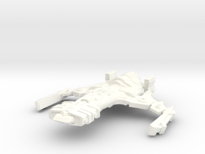 Athtorian Type 1 Starship in White Processed Versatile Plastic