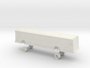 HO Scale Bus Gillig Phantom TheBus 800s in White Natural Versatile Plastic