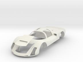 Porsche 906 Short Tail in White Natural Versatile Plastic