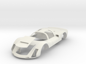 Porsche 906 Short Tail in White Natural Versatile Plastic