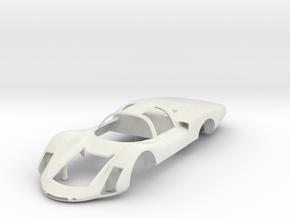 Porsche 906 Long Tail  in White Natural Versatile Plastic
