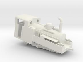 Brienz Rothorn Bahn h 2/3 no 2 Snowden  in White Natural Versatile Plastic