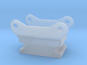 Adapter steelwrist S60 naar shop snelwissel in Smooth Fine Detail Plastic