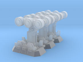 Dropship Landing Gear (3) in Smooth Fine Detail Plastic
