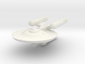 3125 Scale Fed Classic War Destroyer WEM in White Natural Versatile Plastic