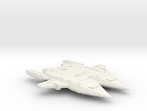 3788 Scale Orion Double Raider CVN in White Natural Versatile Plastic