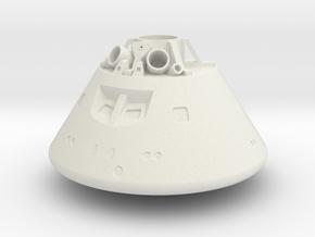 1/72 Orion Capsule in Versatile Plastics (Multi-co in White Natural Versatile Plastic