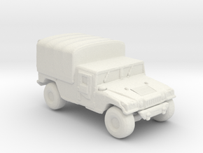 M1038a1 Cargo 160  scale in White Natural Versatile Plastic