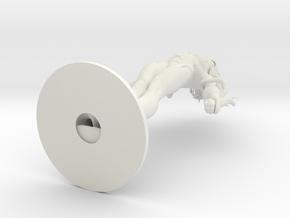 Serina in White Natural Versatile Plastic