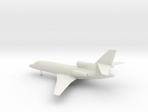 Dassault Falcon 50 in White Natural Versatile Plastic: 1:72