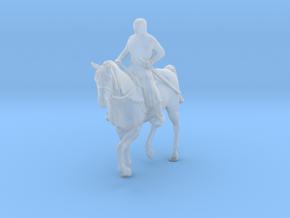 Knight Templar Horseback in Smoothest Fine Detail Plastic: 1:87 - HO