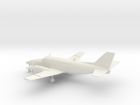 Beechcraft Model 99 Airliner in White Natural Versatile Plastic: 1:72