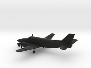 Beechcraft Model 99 Airliner in Black Natural Versatile Plastic: 1:160 - N