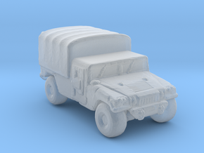 M1038a1 Cargo 285  scale in Smooth Fine Detail Plastic