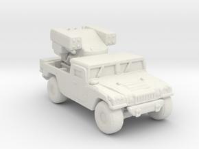 M1097 Avenger 220 scale in White Natural Versatile Plastic