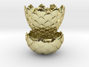 Dragon Egg Game of Thrones Style - Ring Box in 18k Gold