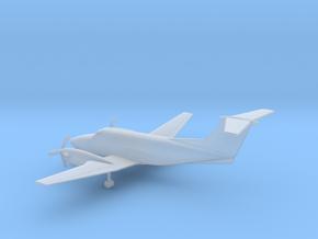 Beechcraft Super King Air 200 in Smooth Fine Detail Plastic: 1:200