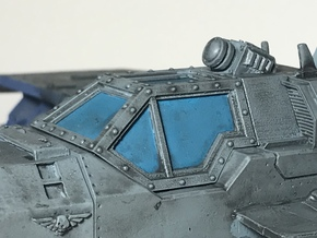 Marauder Bomber Canopy  in Smoothest Fine Detail Plastic