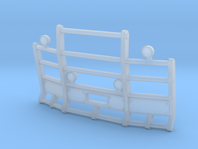 1/87th Herd or Road Train Angled bumper in Smooth Fine Detail Plastic