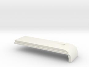 Raspberry Pi Tablet Case - Ethernet Door in White Natural Versatile Plastic