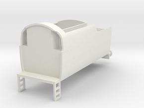 b-76-q1-loco-tender in White Natural Versatile Plastic
