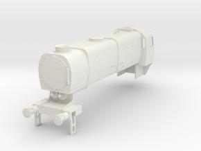 b-76-q1-loco-body in White Natural Versatile Plastic