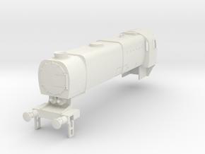 b-76-q1-loco-2-8-0-body in White Natural Versatile Plastic