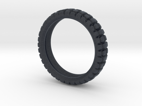 Knobby Tire Ring in Black Professional Plastic