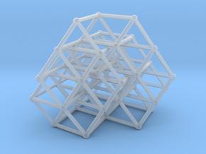 Fibonacci cube of order 8 in Smooth Fine Detail Plastic