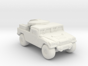 M1097a2 - TSC154 285 scale in White Natural Versatile Plastic