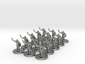 Game of Thrones Risk Pieces - Braavos in Natural Silver