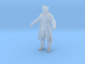 Wolfenstein Colossus officer in trenchcoat 28 in Smooth Fine Detail Plastic