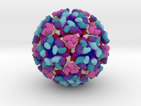 Chikungunya Virus in Natural Full Color Sandstone