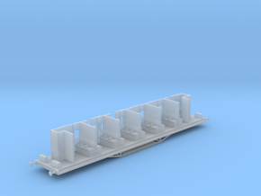 HAVC - Victorian Railwyas AV Car Chassis in Smooth Fine Detail Plastic