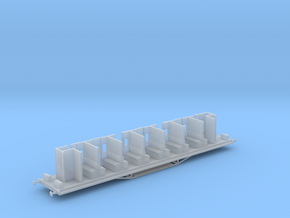 HBVC - Victorian Railways BV Carriage Chassis in Smooth Fine Detail Plastic