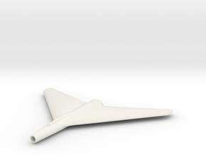 (1:144) LFA Strahljäger-Projekt (#4) in White Natural Versatile Plastic