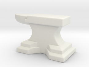 Anvil A in White Natural Versatile Plastic