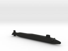 Vanguard-class SSBN, Full Hull, 1/2400 in Black Premium Versatile Plastic