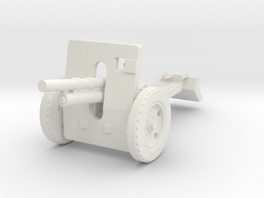 100mm howitzer wz. 1914/19 late 1:87 in White Natural Versatile Plastic
