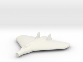 (1:285) Lippisch Delta VI with Lorin Ramjet in White Natural Versatile Plastic