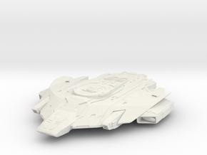 Federation USS Hawk  Hvy Escort in White Natural Versatile Plastic