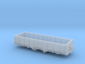 HKa 30' P&R Reading Railroad Coal Hopper Gondola H in Smooth Fine Detail Plastic: 1:120 - TT